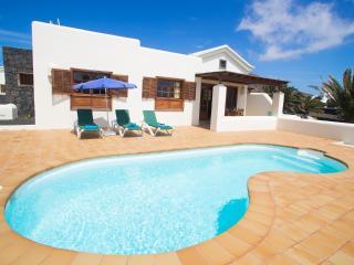 Playa de Hyde, 2 dormitorio y privadas piscina Lanzarote, Playa Blanca