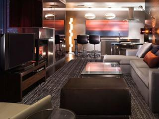 Luxury 1220 sq.ft. One Bedroom Suite with balcony, Las Vegas