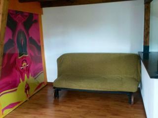 divano letto doppio con cabina armadio