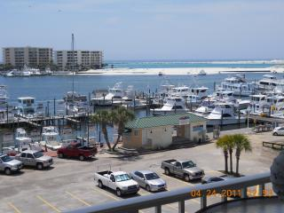 AT THE CENTER of the DESTIN BOARDWALK, Destin