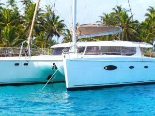 Catamarán de lujo en San Blas, Islas San Blas