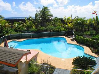Champagne Cove features ocean views and a huge, private swimming pool!