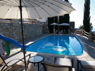Sunset  Villa  -Relax in quiet-enjoy our private pool and seaview, Paphos