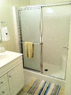 Spacious Walk in Master Bath Shower