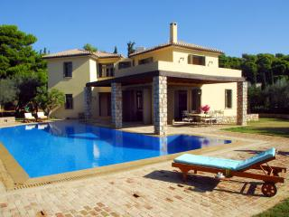 Porto Heli  Family Villa with large pool  & lovely garden near seaside accom, Kosta