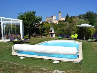 Cevenne door's Saint-Florent-sur-Auzonnet Gard, Villa 8p. private pool, Uzeste