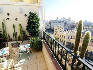 Atico Centro de Valencia con espectaculares vistas