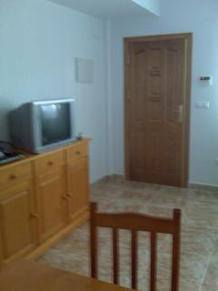 Picture of front door and part of lounge