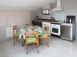 Peaceful apartment by the Arcachon Bay with private terrace, air con and WiFi – 800m from beach!, Ares