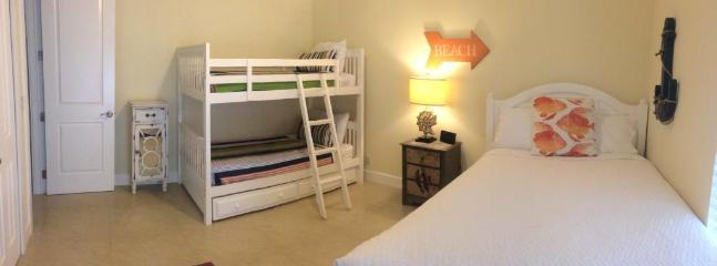 Kids Room sleeps 5 with trundle and queen bed