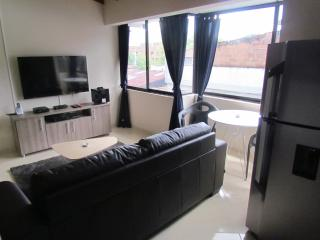 1 bedroom hot tub AC, close to Lleras 301