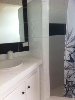 Stylish bathroom - plenty solar water!