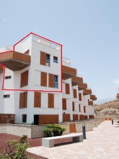 Localización del apartamento dentro del bloque. Primera línea.