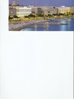 Cannes sea front view