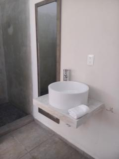 2bd bathroom, sink, toilet , shower