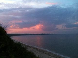 Sunset at Manomet Beach