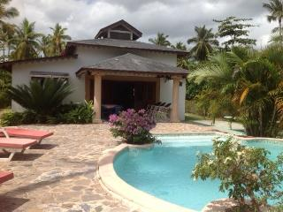 Beautiful house on the beach in a private beach, Las Terrenas