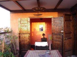 'Yellow',Gueliz 2 beds,2 terraces,Wifi,no doorman, Marrakech