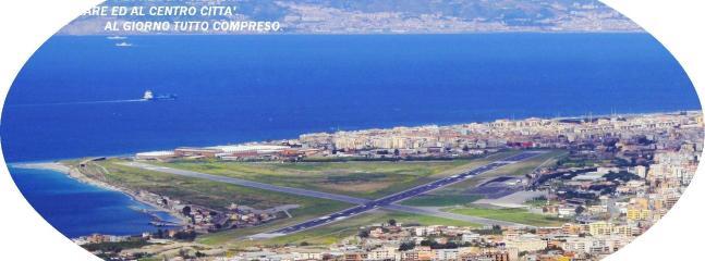 Panorama dell'aeroporto dello Stretto di Reggio Calabria
