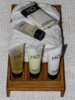 High-end hotel quality bathroom amenities!