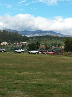 View of Sierra Blanca from Cree Meadows Golf Course