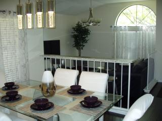 Two living areas & 3 bedrooms. Very spacious house. Ask about our Specials!