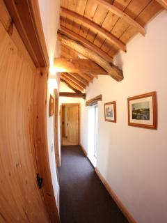You'll feel right at home in our warm and spacious cottage, with quirky beamed ceilings throughout.