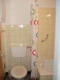 WC und Douche