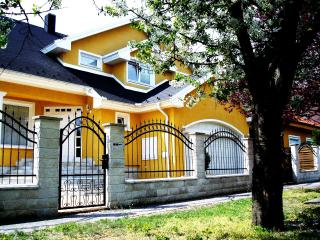 Nice and comfortable villa in Budapest with big garden and BBQ