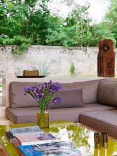 Casa Sisal sitting area detail