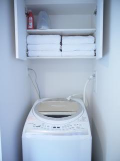Towels, Washing Machine, etc