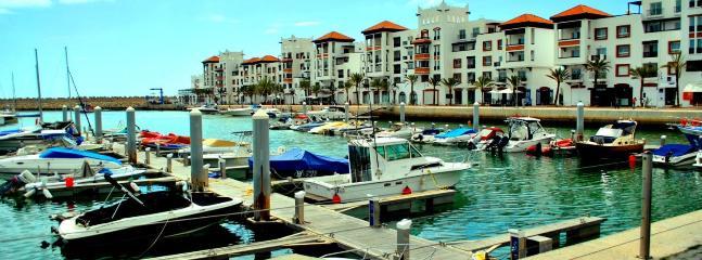 la jolie marina d'Agadir