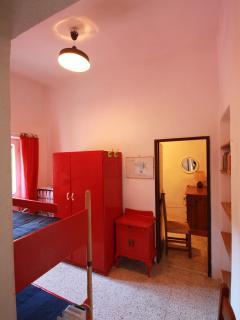 Camera con letto a castello 1° piano