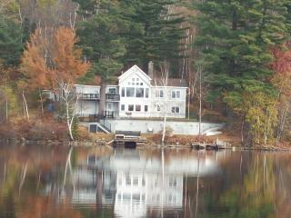 Stunning White Mountains Lake Home Close to Skiing, Whitefield