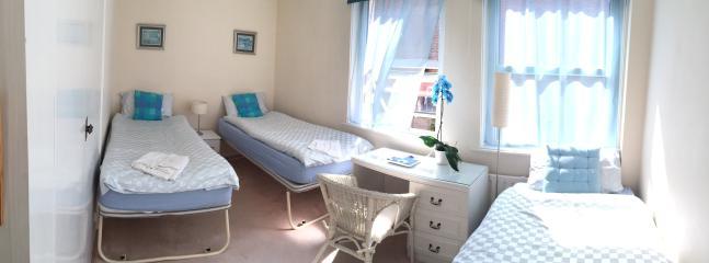 first floor blue triple room