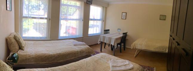 first floor beige triple bedroom