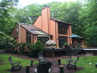 Central AC, Private Outdoor SPA, LAKE, GAME ROOM, Pocono Summit
