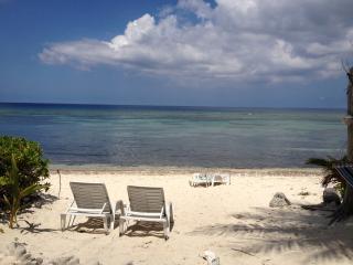 oceanfront, sandy beach