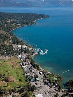 Tahoe City is 2 miles