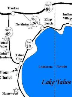 This home is located very close to Tahoe City - the center of activity on the North Shore and about 10 min to Squaw...