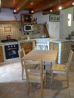 Zona cucina e living