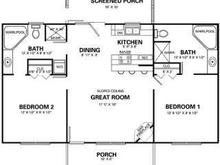 Two large suites each with jetted tubs, washer / dryer, showers, flat screen tvs, direct TV/Netflix