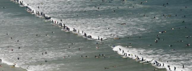 Muizenberg - a great surfing spot