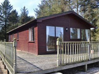 Beautiful Scandinavian-style Log Cabin, Moelfre