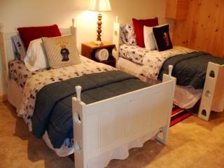 Dos camas en la planta baja