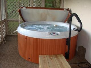 Bañera de hidromasaje en cubierta, defendida en cubierta con vistas!!