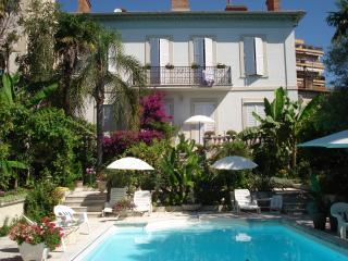 Appartement en Villa,piscine-Cannes- 2a7 personnes