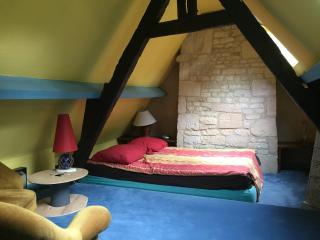 chambre dans maison face au chateau, Caen