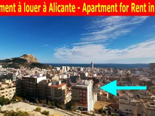 Penthouse for rent in the centre of Alicante