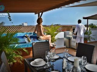 Luxurious VIP Penthouse 8Pax ocean view & jacuzzi, Santo Domingo